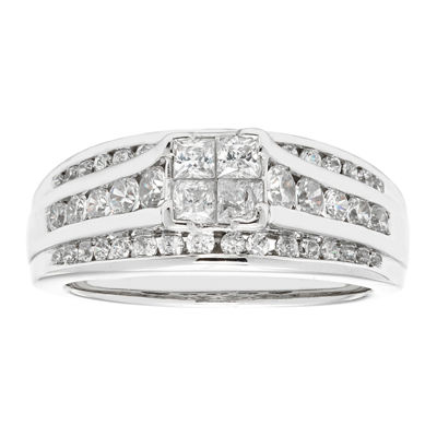 LIMITED QUANTITIES2 CT. T.W. Diamond 14K White Gold Engagement Ring