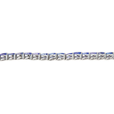 LIMITED QUANTITIES Genuine Tanzanite Sterling Silver Bracelet