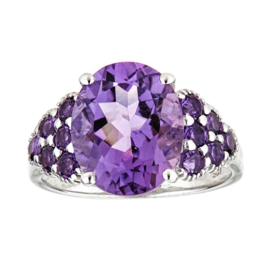 LIMITED QUANTITIES  Amethyst Sterling Silver Ring