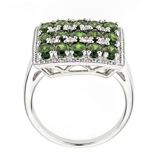 LIMITED QUANTITIES Chrome Diopside Sterling Silver Ring