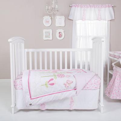 Trend Lab® Floral Fun 6-pc. Crib Bedding Set