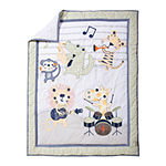 Trend Lab® Safari Rock Band 6-pc. Crib Bedding Set