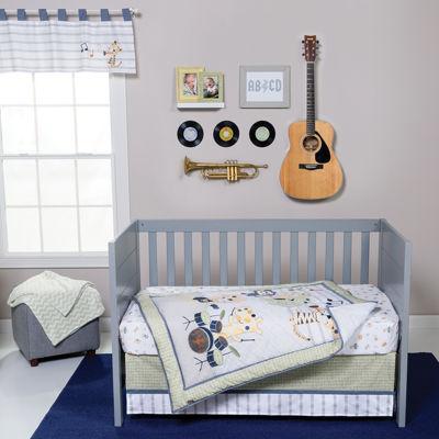 Trend Lab® Safari Rock Band 6-pc. Crib Bedding Set