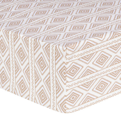 Trend Lab® Deer Lodge Aztec Fitted Crib Sheet