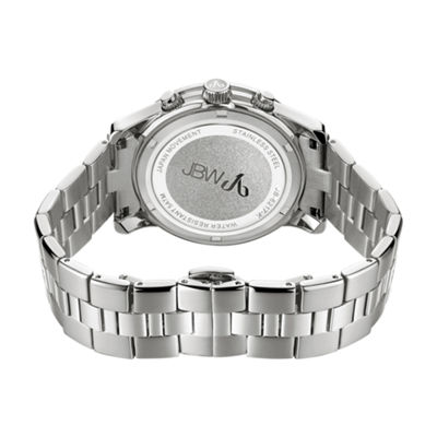 JBW Alessandra Womens Diamond-Accent Stainless Steel Bracelet Watch JB-6217-K