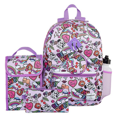 6PC Be Happy Backpack Set