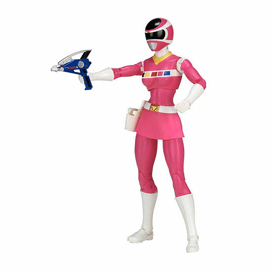 Power Rangers In Space Legacy Pink Power Ranger Action Figure