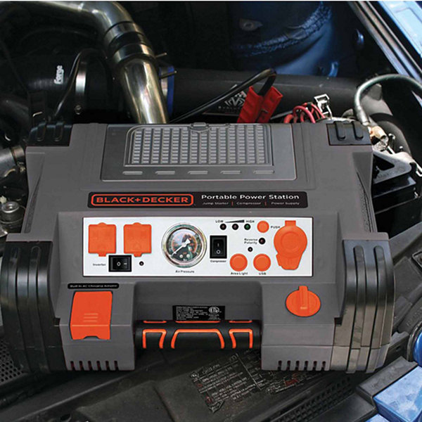 Black & Decker PPRH5B Professional Power Station with 120psi Air Compressor