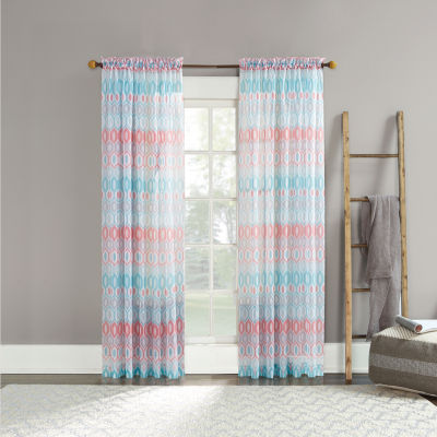 Vernell Rod-Pocket Curtain Panel