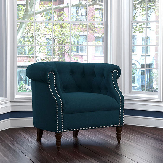 Chesterfield Button Tufted Chair