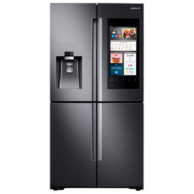 Samsung ENERGY STAR® 22 cu. ft. Counter Depth Family Hub™ 4-Door Flex French-Door Refrigerator
