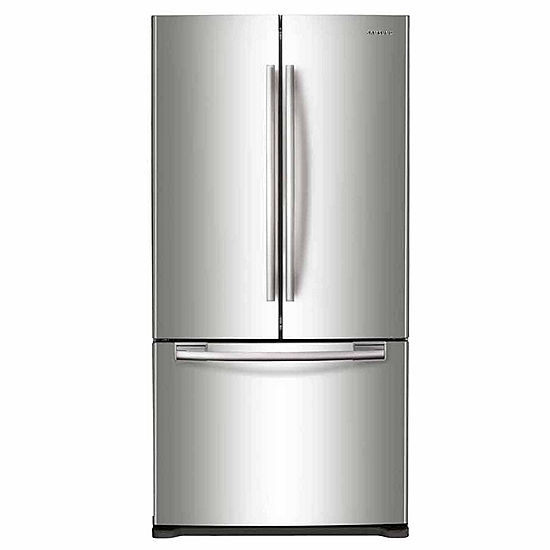 Samsung Rf20hfenbwwus 194 Cu Ft French Door Refrigerator Jcpenney