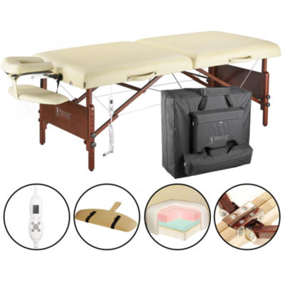 "Master® Massage 30"" Del Ray Pro Massage Table in Beige"