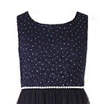 Speechless Little & Big Girls Embellished Sleeveless A-Line Dress