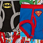 Toddler Boys 7 Pack Justice League Briefs