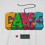 Video Game Controller Little & Big Boys Crew Neck Short Sleeve Graphic T-Shirt