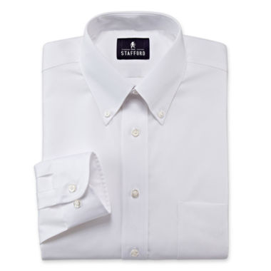 Stafford® Travel Performance Pinpoint Oxford Dress Shirt