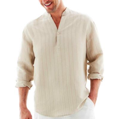 Havanera Long Sleeve Button-Front Shirt