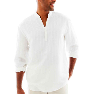 Havanera Long Sleeve Button-Front Shirt