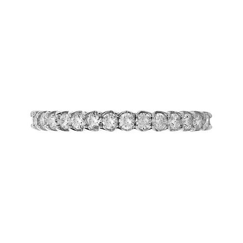 LIMITED QUANTITIES 3/8 CT. T.W. Diamond 14K White Gold Band