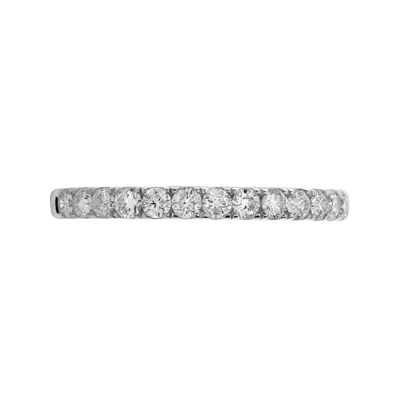 LIMITED QUANTITIES 1/2 CT. T.W. Diamond 14K White Gold Band