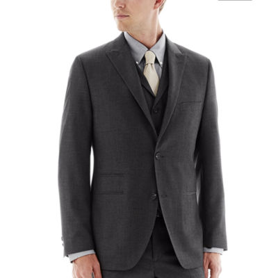 The Savile Row Company Charcoal Suit Jacket - Slim