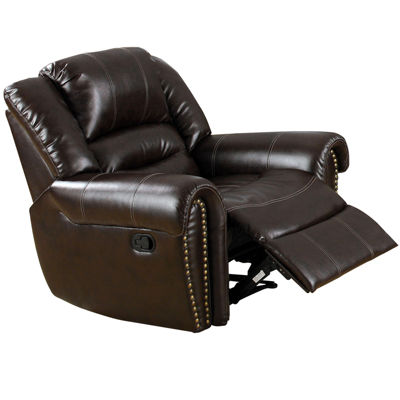 Montana Faux-Leather Recliner