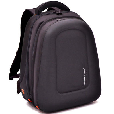 Traveler's Choice® Compression-Molded EVA Expandable Laptop Backpack