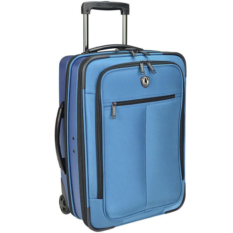 """Traveler's Choice 21"""" SIENA Hybrid Hardshell Rolling Garment Bag"""