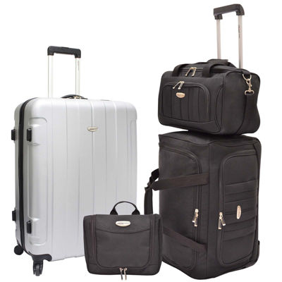 Traveler's Choice® Rome 4-pc. Nested Luggage Set