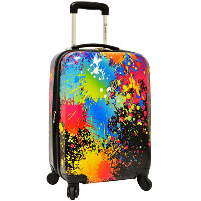 "Traveler's Choice® Paint Splatter 29"" Expandable Spinner Luggage"