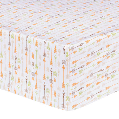 Trend Lab® Deer Lodge Arrow Fitted Crib Sheet