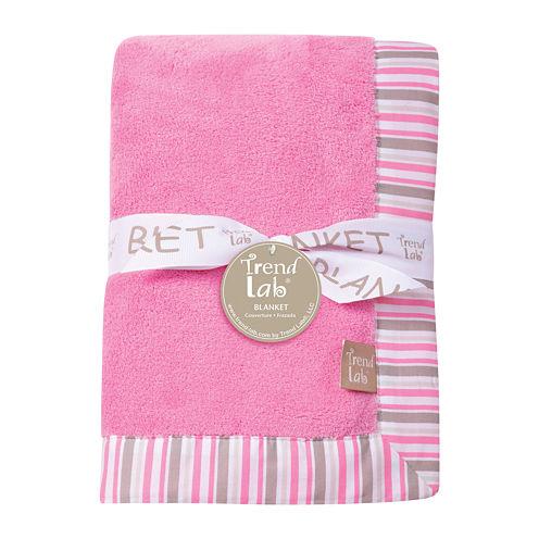 Trend Lab® Lily Stripe Framed Cradle Sheet