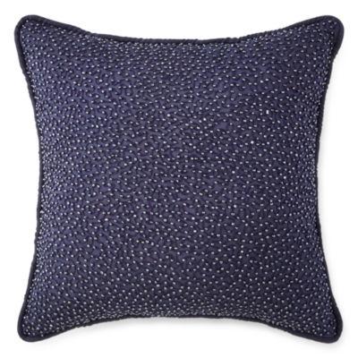 "Royal Velvet® Briarhill 16"" Square Decorative Pillow"