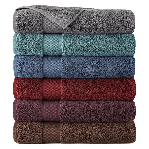 Liz Claiborne® MicroCotton® Bath Towels - JCPenney