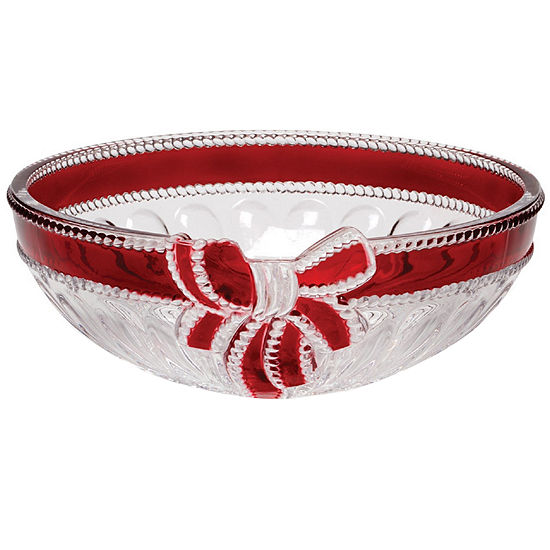 Mikasa® Celebrations Red Ribbon Hostess Bowl