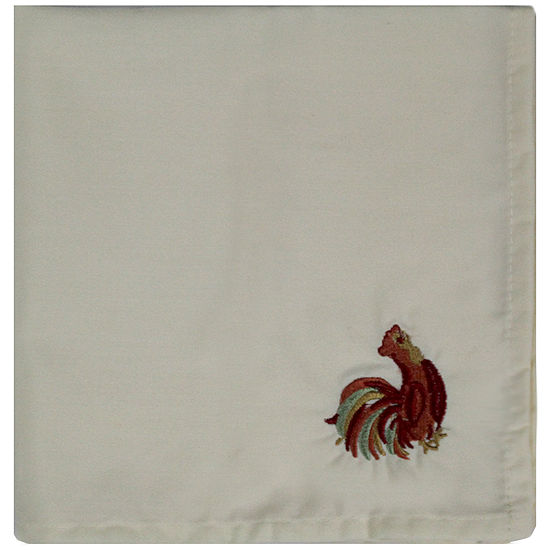 Homewear Rooster Scroll Set of 2 Napkins
