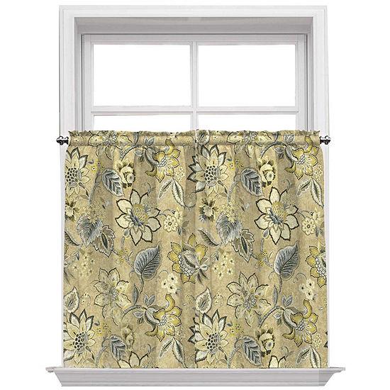 Waverly Rod-Pocket Window Tiers