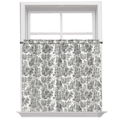 Waverly Rod-Pocket Window Tiers