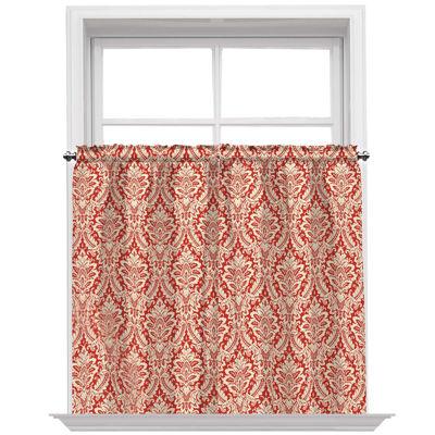 Waverly® Donnington Rod-Pocket Window Tiers