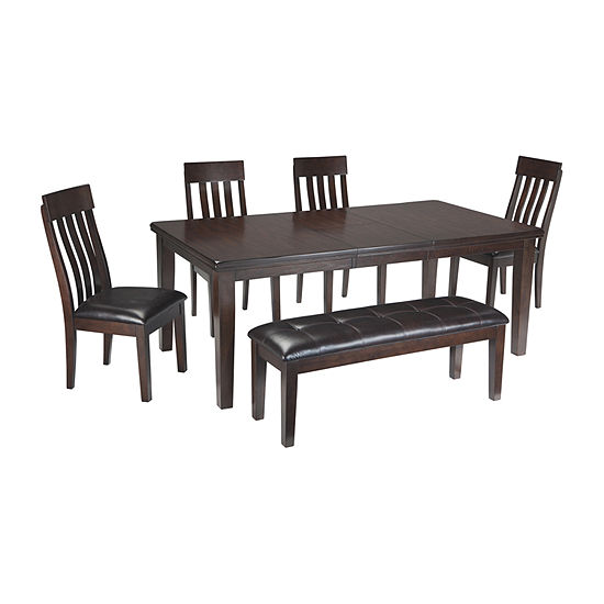 Signature Design by Ashley® Towson 6-Pc Standard Height Dining Set