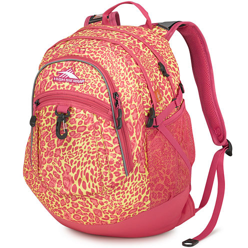 High Sierra® Fatboy Electric Leopard Backpack
