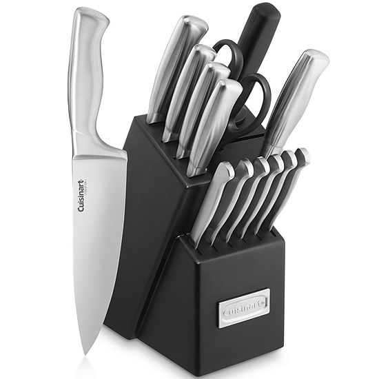 Cuisinart® Classic Stainless Steel 15-pc. Knife Block Set