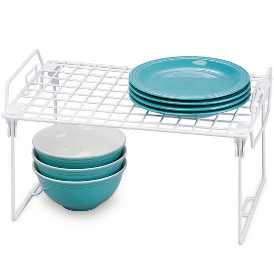 Honey-Can-Do® Set of 2 Kitchen Organizer Racks