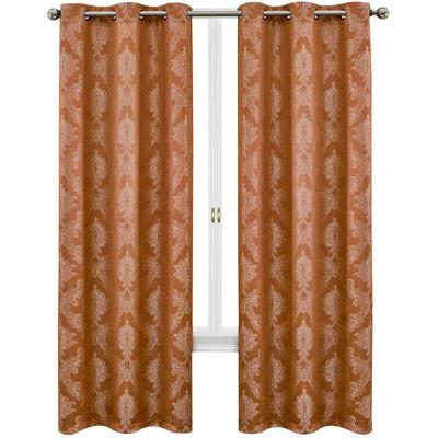 Geneva 2-Pack Grommet-Top 76X95 Curtain Panels