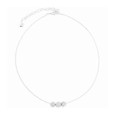 Gloria Vanderbilt® Crystal and Silver-Tone Pendant