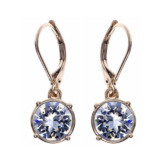 Gloria Vanderbilt® Gold-Tone Crystal Drop Earrings