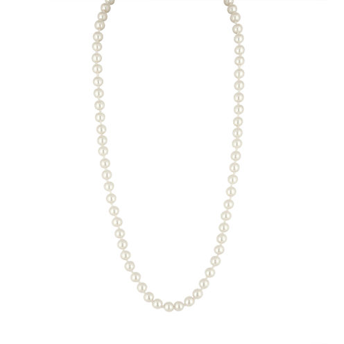 Vieste® Simulated Pearl Strand Necklace