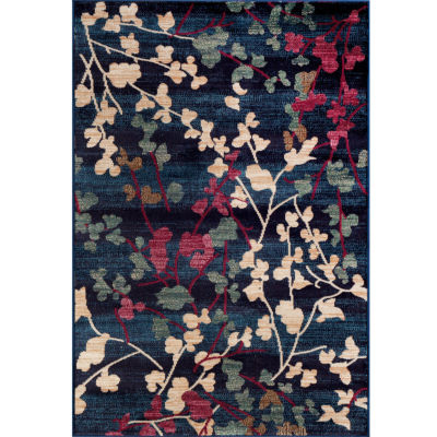"Loft Blossoms 5'3""x7'3"" Rectangle Rug"