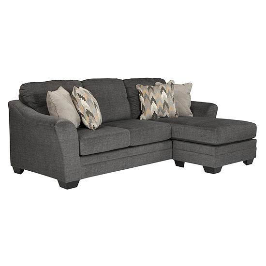 Sectional Sofas At Jcpenney: Signature Design By Ashley Braxlin Sofa Chaise Benchcraft